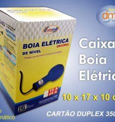 caixa boia elétrica